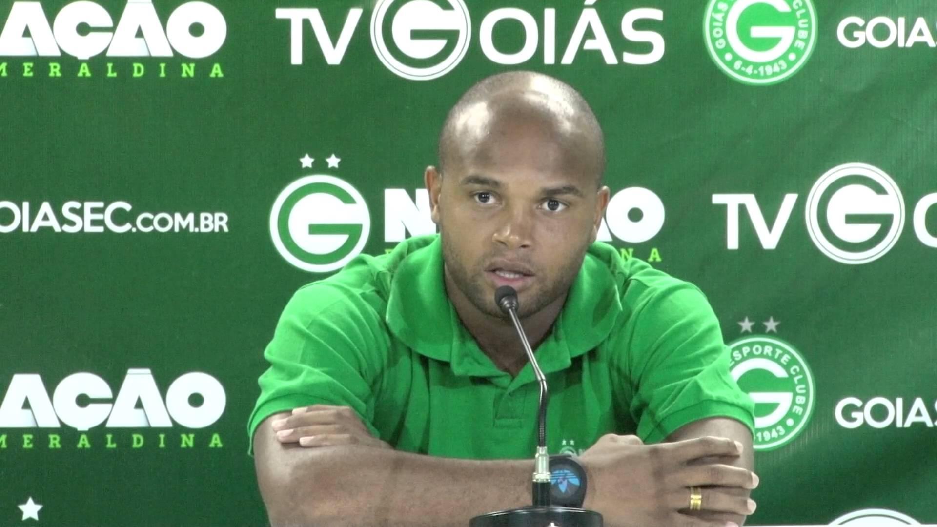 Anderson Salles no Goiás contra o Vasco
